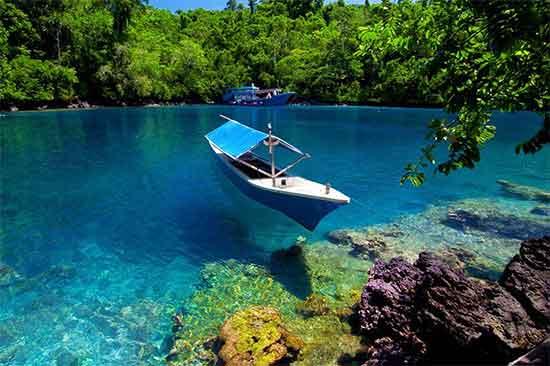Menikmati Keindahan Pantai Sulamadaha Wisata Ternate