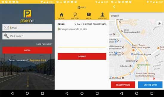 aplikasi parkiran buatan indonesia